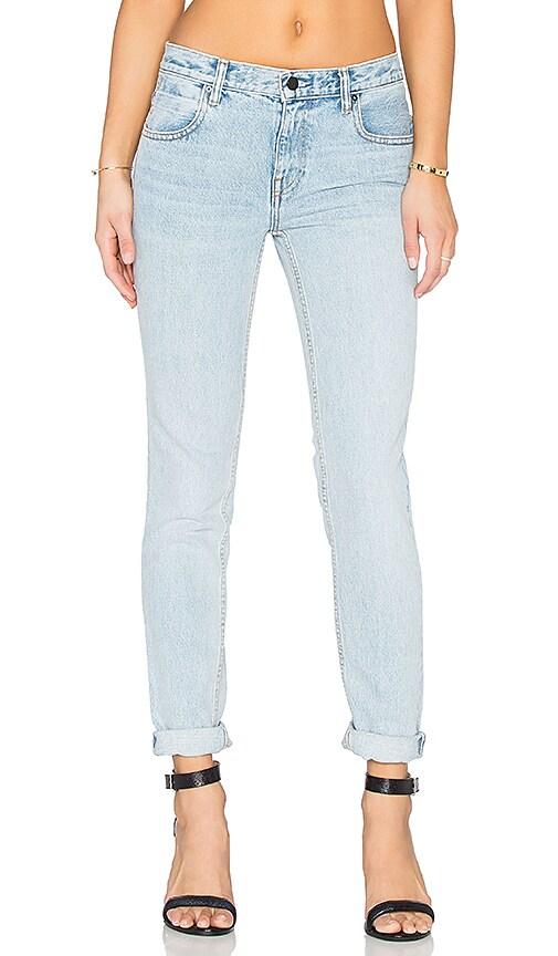 DENIM x ALEXANDER WANG Wang 002 Relaxed Jeans in Bleach
