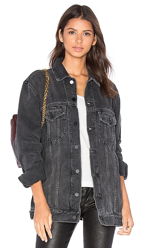 DENIM x ALEXANDER WANG Daze Denim Jacket in Grey