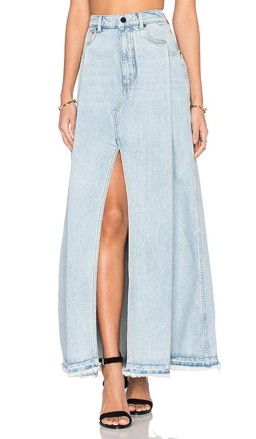 Deconstructed Maxi Skirt