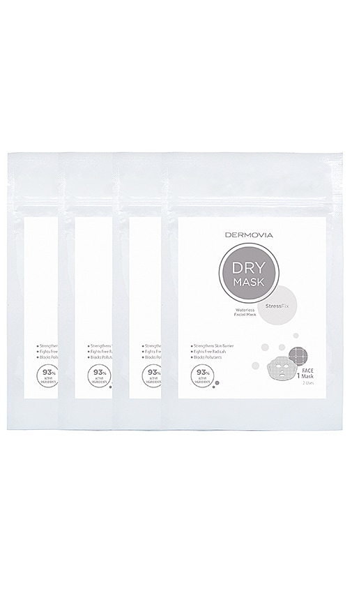 StressFix Dry Face Mask 4 Pack