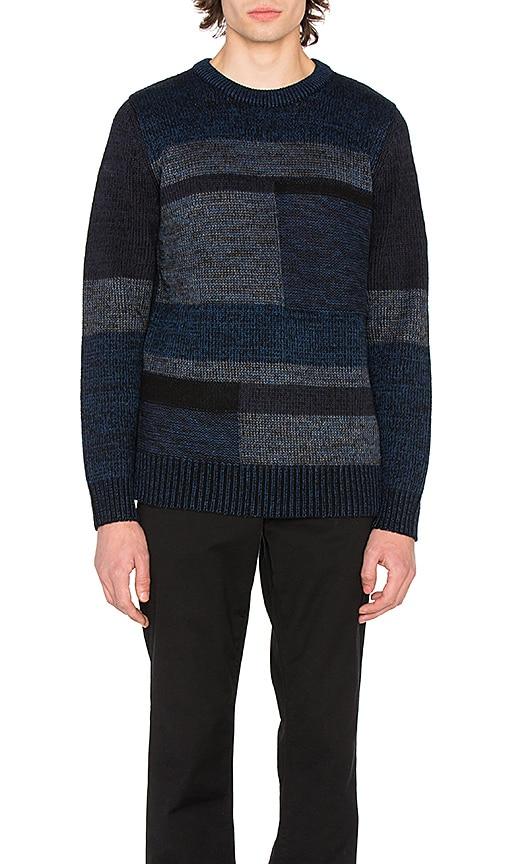 Deus Ex Machina Gradation Sweater in Blue