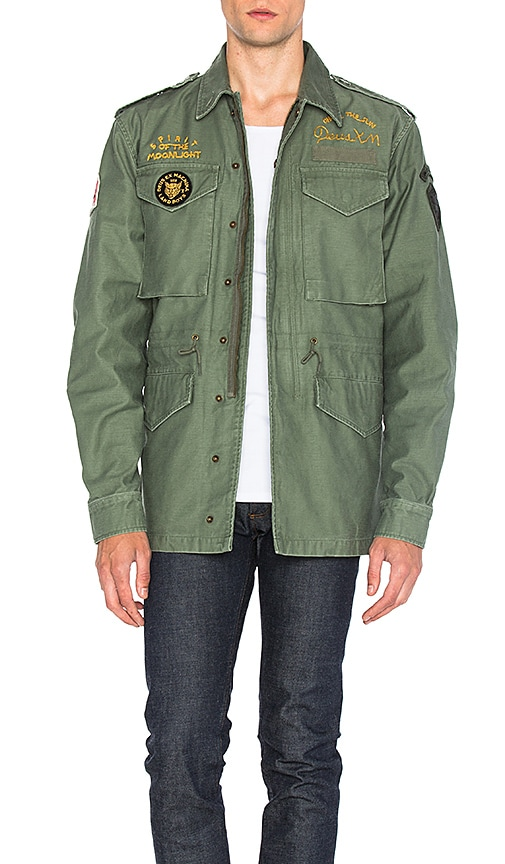 Deus Ex Machina Land M65 Jacket in Green