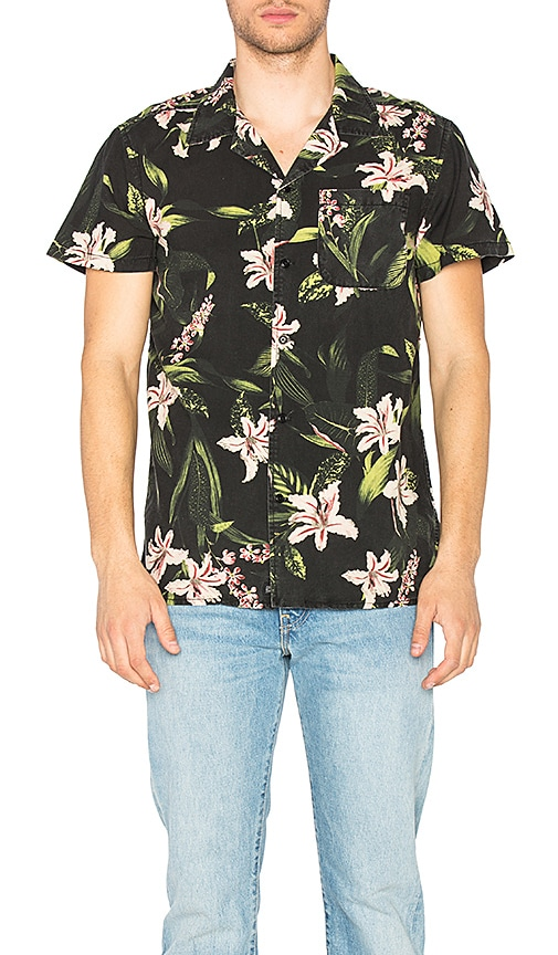 Deus Ex Machina Dean Resort Shirt in Black