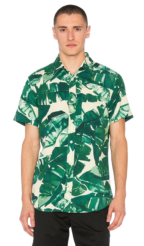 Deus Ex Machina Ralph Banana Shirt in Green
