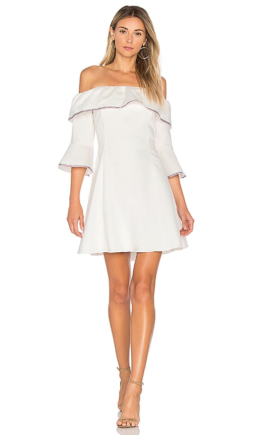 devlin Viviane Dress in White