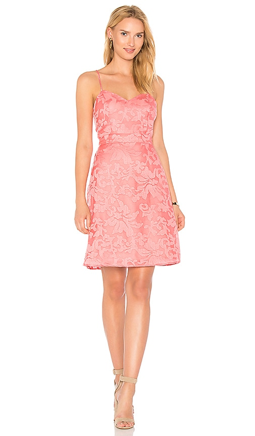 devlin Linda Dress in Coral