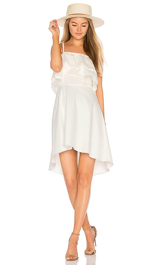 devlin Kalena Dress in White