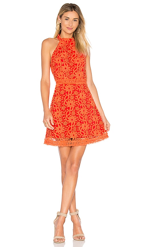 devlin Maryanne Dress in Orange