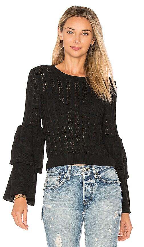 devlin Molly Knit Sweater in Black