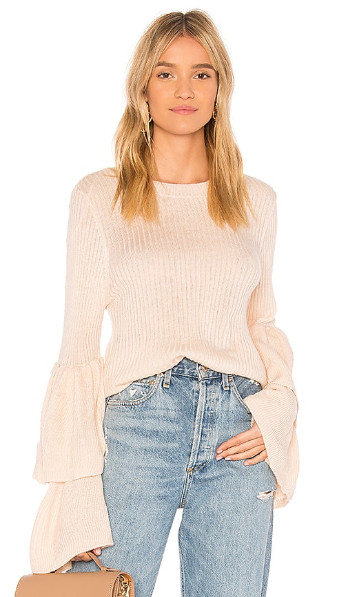 devlin Tiara Sweater in Blush