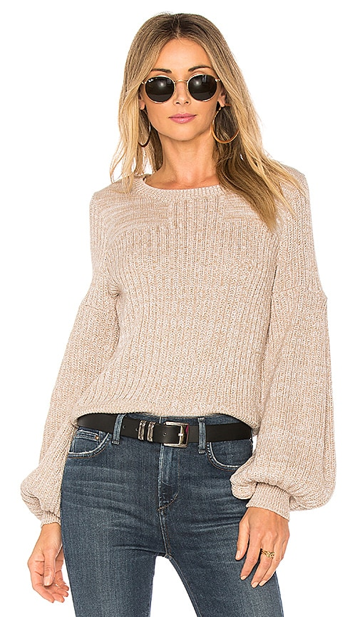 devlin Sandie Sweater in Beige
