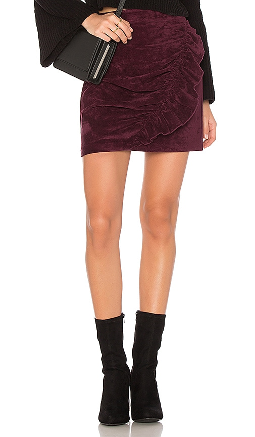 devlin Mabel Skirt in Purple