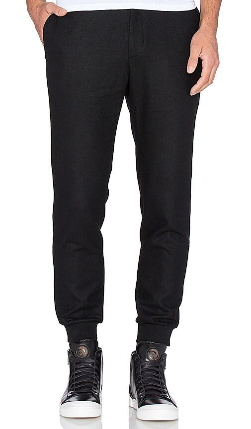 D. Gnak D by D Woven Jogger Pants in Black