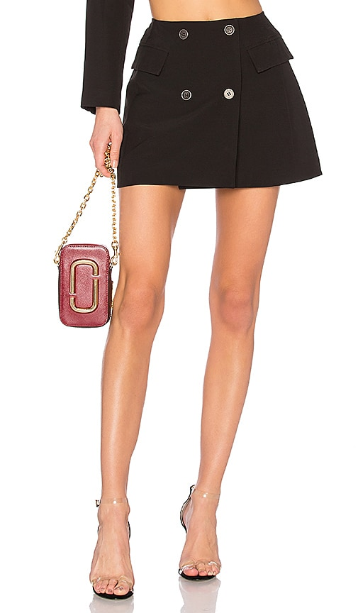 DANIELLE GUIZIO Blazer Mini Skirt in Black