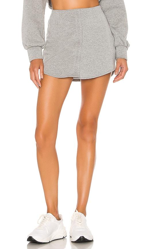 Fleece Button Skirt