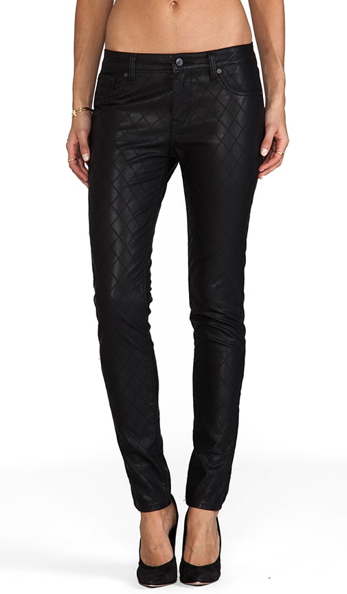 Faux Leather New York Skinny