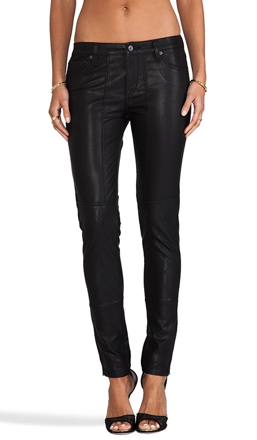 Faux Leather Sturgis Skinny