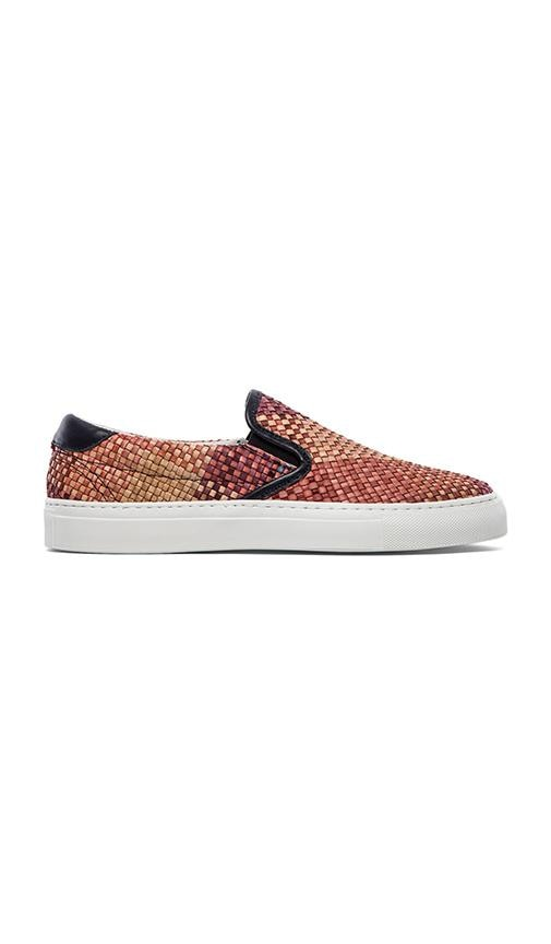 Garda Woven Leather Slip On