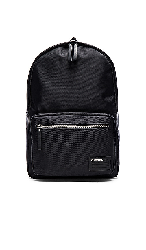 Diesel Beat Box Drum Roll Backpack in Black