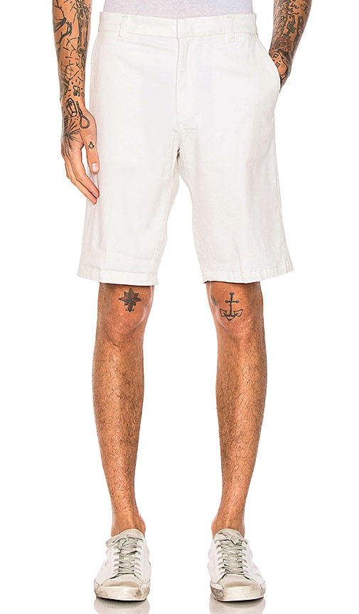 Diesel Chino Driver Shorts in White