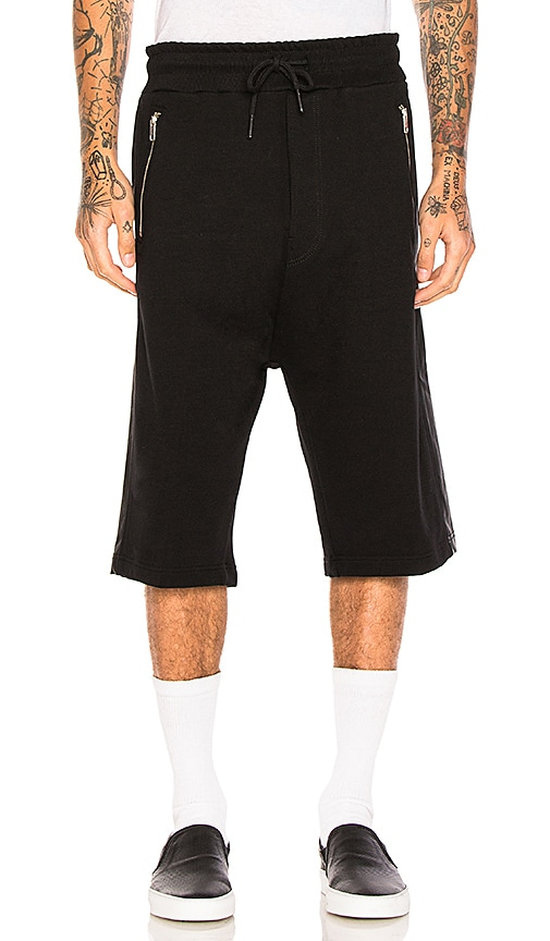 Diesel Mike Shorts in Black