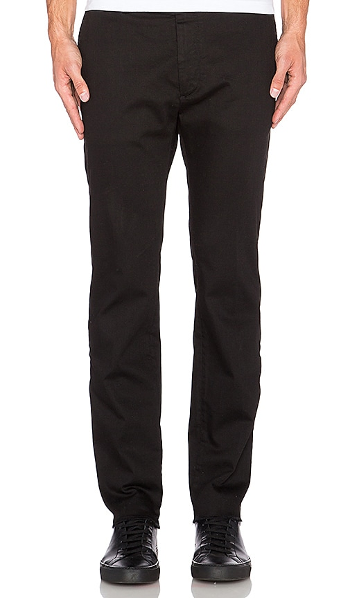 Diesel Linys A Pant in Black