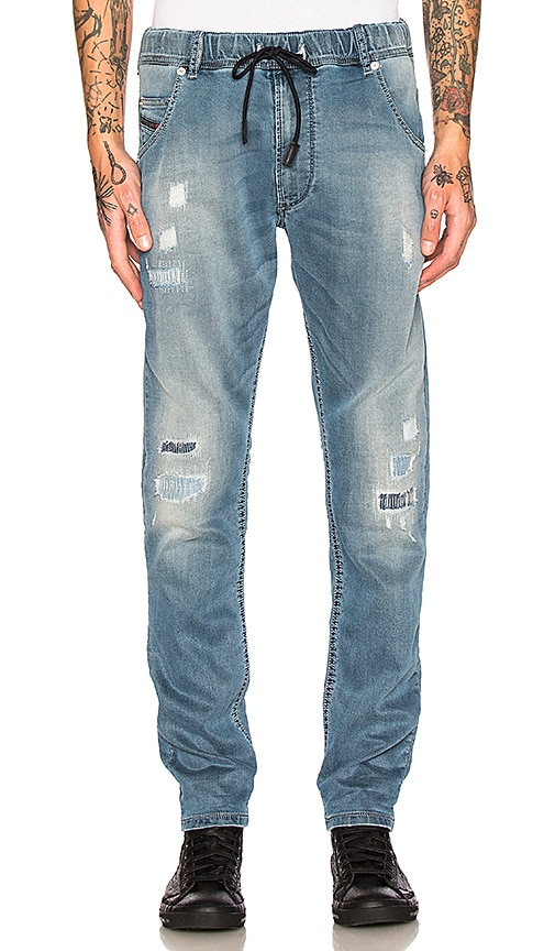 Diesel Krooley NE Jeans in 0681I