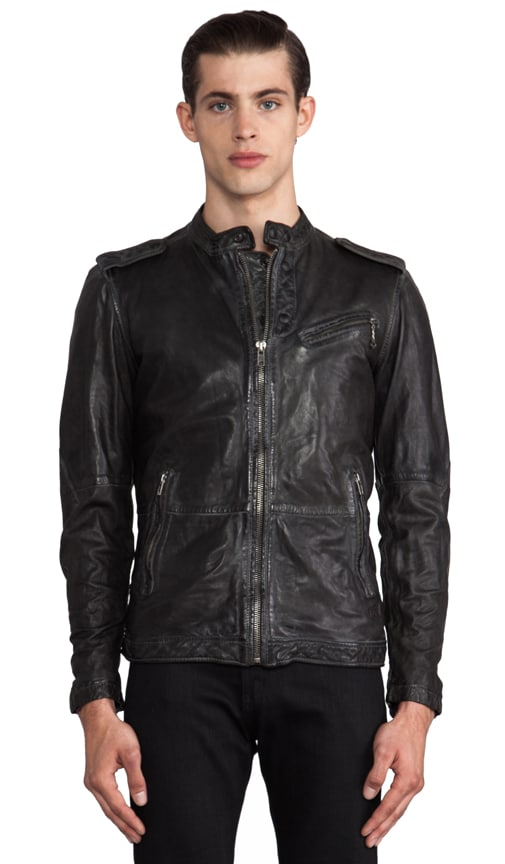 Leprandis Leather Jacket