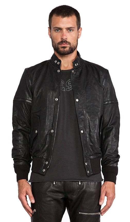 Ghita Leather Jacket