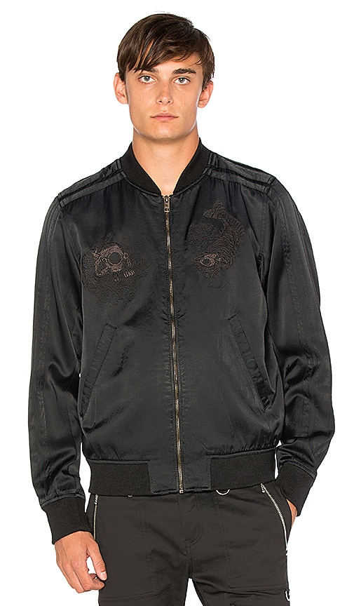 Diesel Blues Jacket in Black