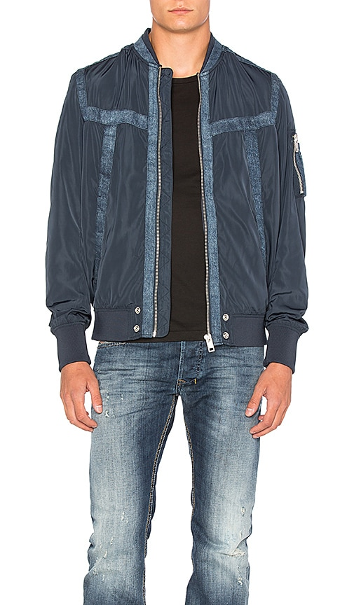 Diesel Presley Jacket in Navy