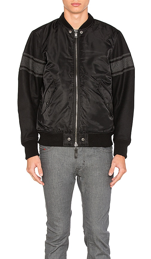 Diesel Kitt Type Jacket in Black