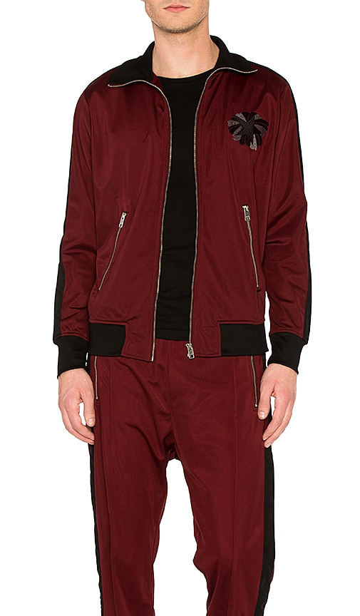 Diesel Truck Jacket in Burgundy