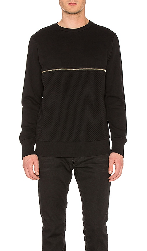 Diesel Dry Sweatshirt in Black