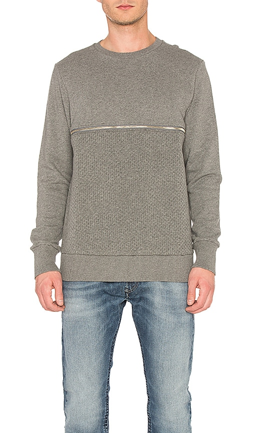 Diesel Dry Sweatshirt in Gray