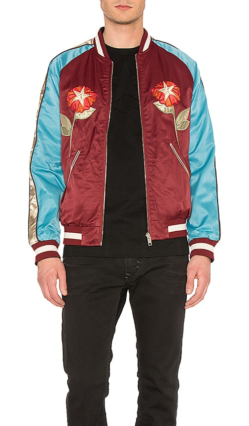Diesel Bakery Jacket in Red