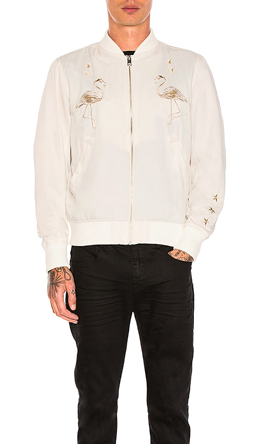 Diesel Flamingo Jacket in Cream