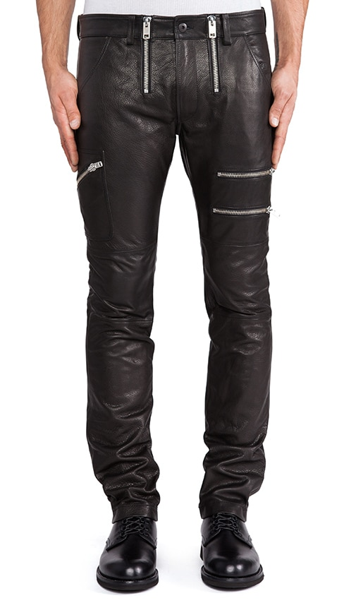 Zipps Leather Pant