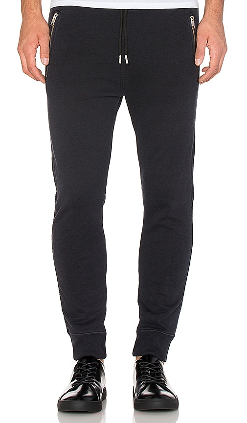 Diesel Herk Sweatpant in Black