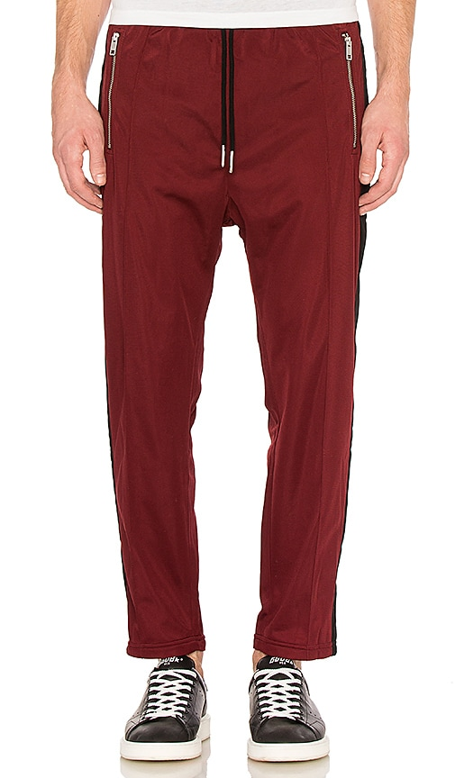 Diesel Newton Pants in Burgundy