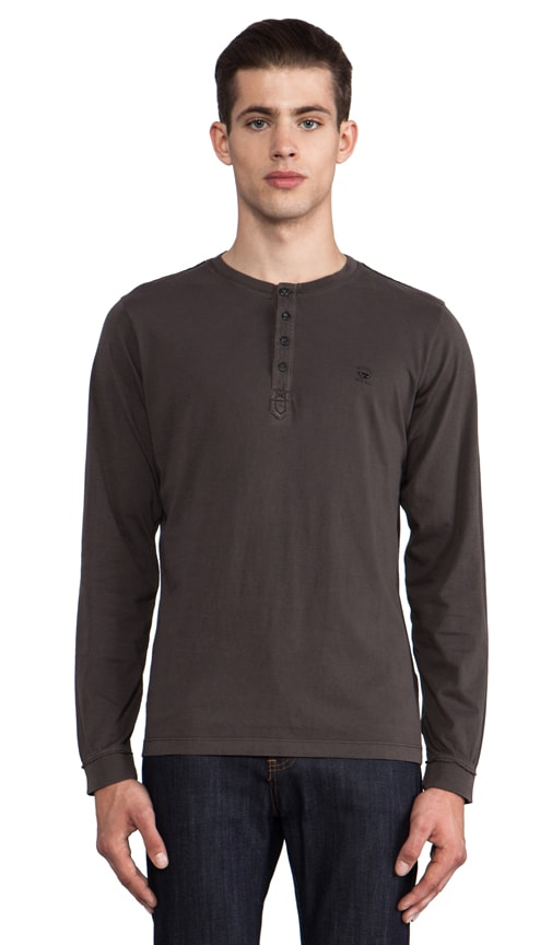 Flavien Long Sleeve Henley