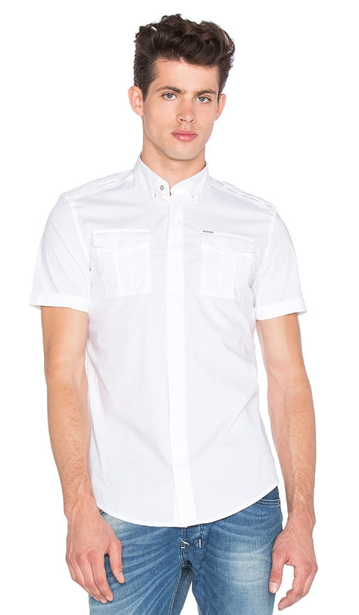 Diesel Haul Shirt in White