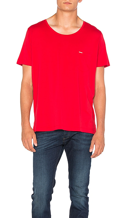 Diesel Kronox Pocket Tee in Red