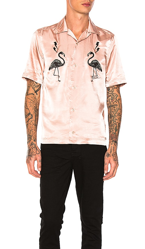 Diesel Westy Shirt in Rose