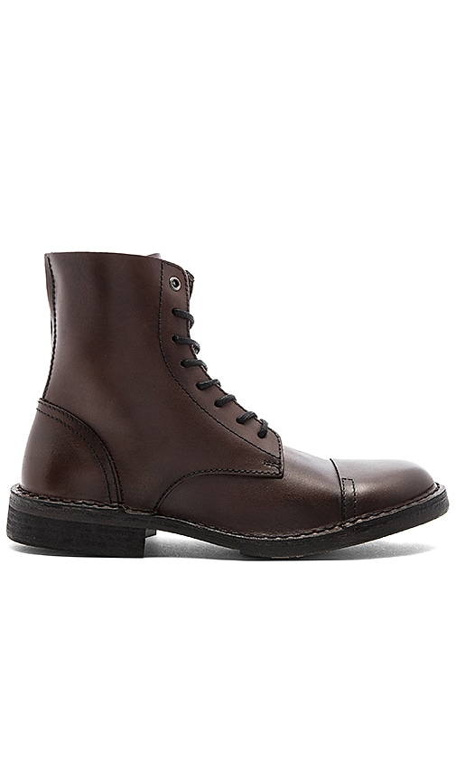 Diesel Dopper D Pit Boot in Brown