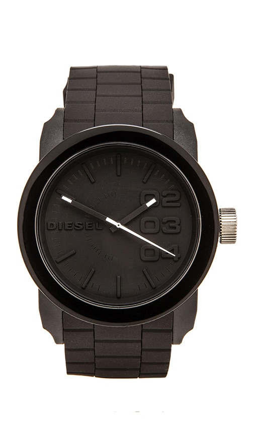 Double Down Silicone DZ1437 44mm Watch