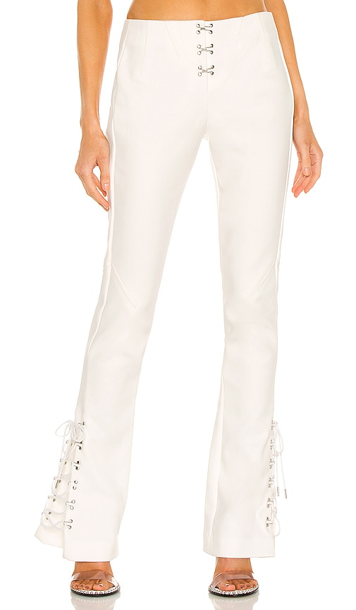 Dion Lee LACED RELEASE PANT