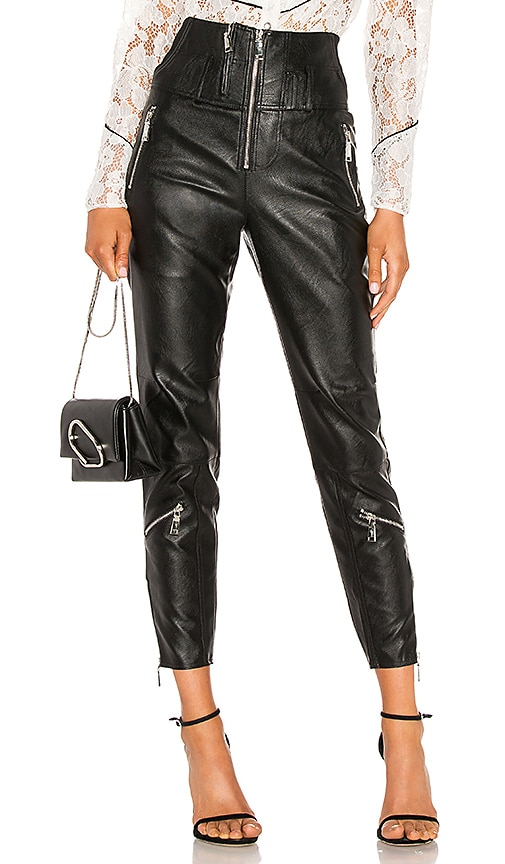 Vegan Leather Moto Pant