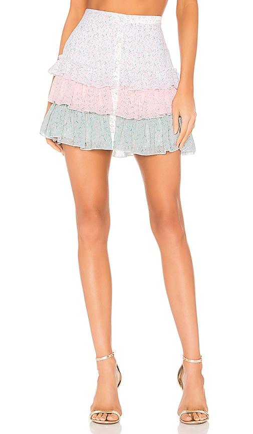 Three Tiered Mini Skirt