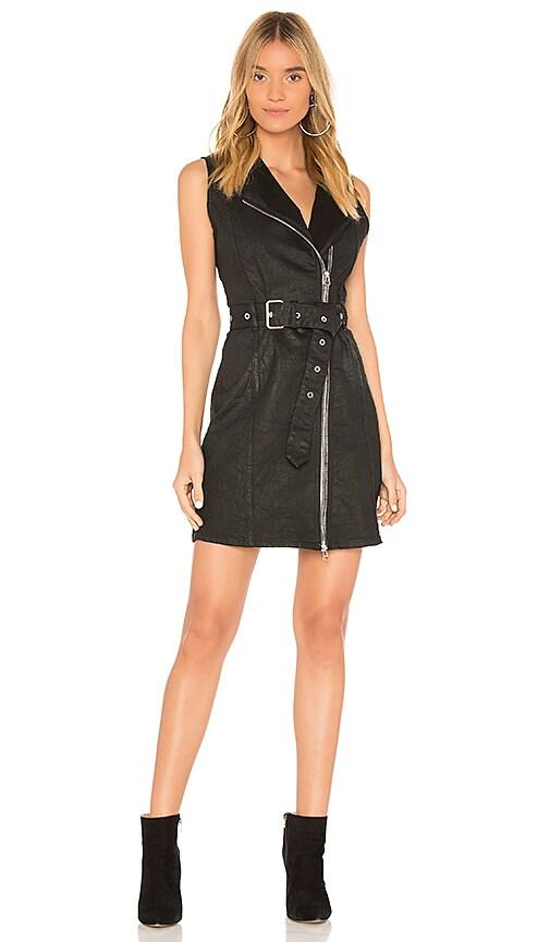 DL1961 Robyn Dress in Sleek Black